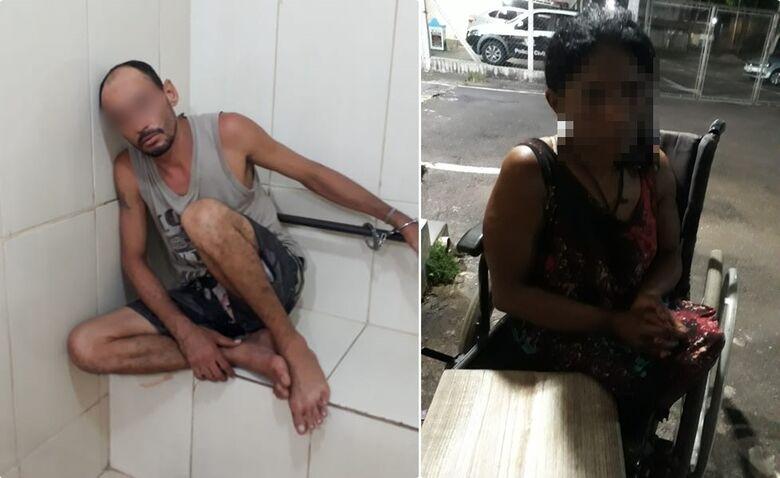 Marido agride mulher cadeirante a pauladas no Eduardo Abdelnur - Crédito: São Carlos Agora
