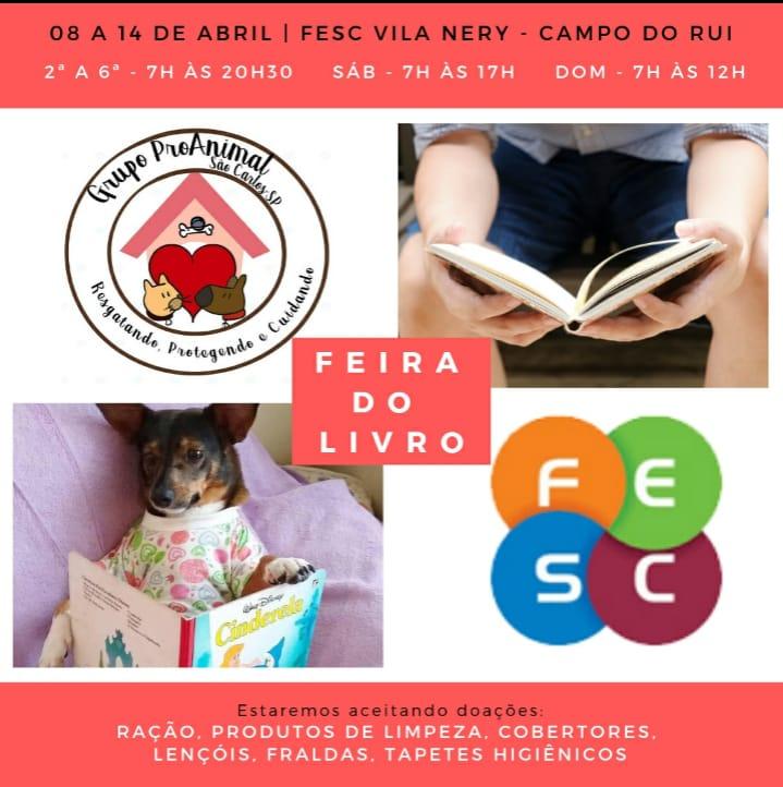 """Uma Feira do Livro """"boa pra cachorro"""" - Crédito: Divulgação"""