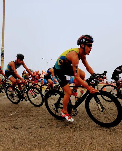 São-carlense faz bonito no Uruguai e conquista vaga para o Pan de Triathlon - Crédito: Divulgação