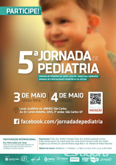 Evento busca intercâmbio multiprofissional no cuidado ou da saúde da criança e adolescente - Crédito: Divulgação