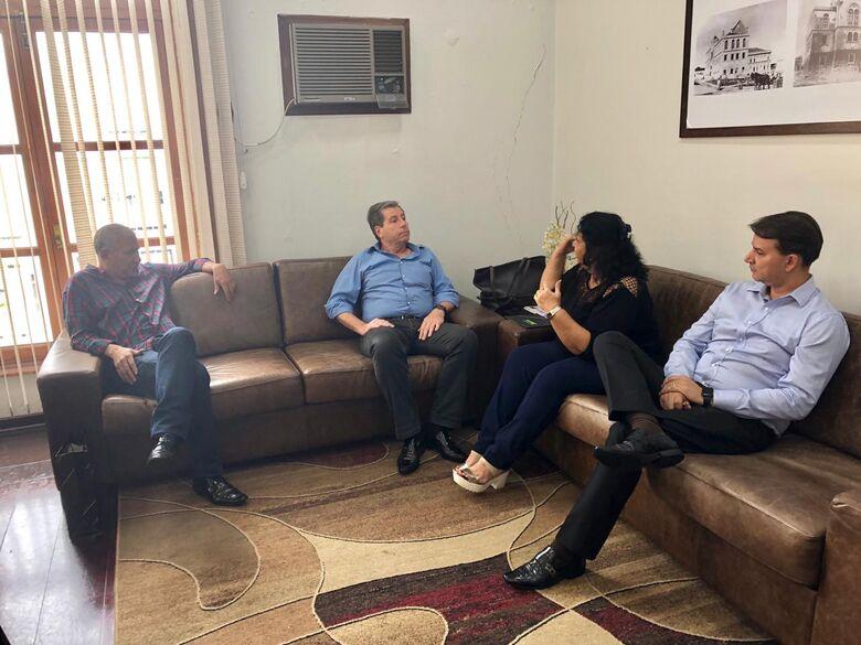 Acisc visita Câmara Municipal para falar sobre 'Comerciante do Ano' - Crédito: Divulgação