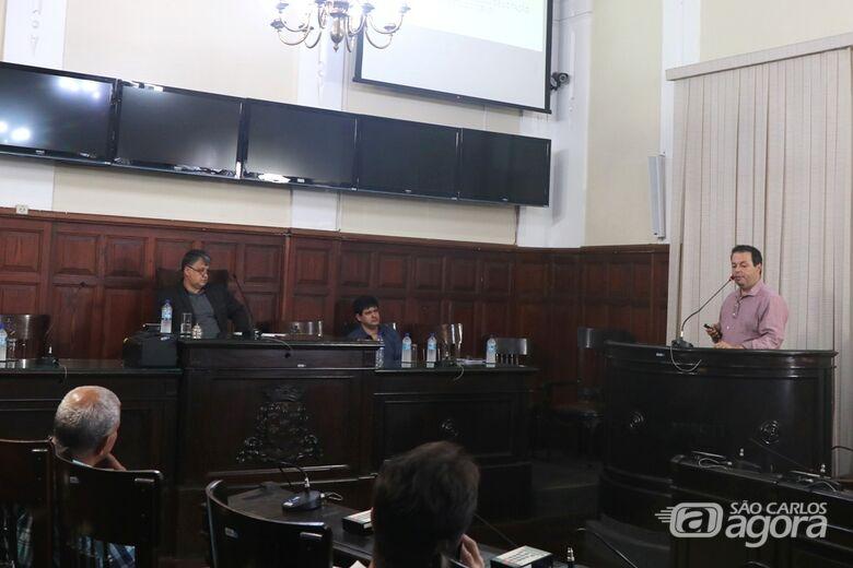 Secretário de Planejamento e Gestão apresentou atividades na Câmara - Crédito: Divulgação