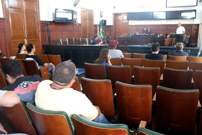 Câmara inicia série de audiências públicas com secretários municipais - Crédito: Divulgação