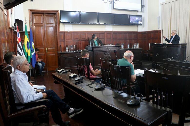 Secretários municipais apresentam atividades em audiência pública no Legislativo - Crédito: Divulgação