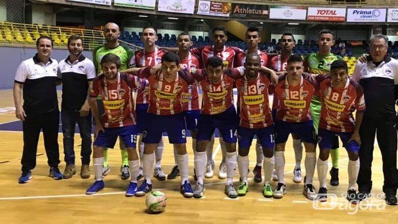 São Carlos Futsal aplica goleada de dois dígitos e despacha Santa Lúcia na Taça EPTV - Crédito: Divulgação