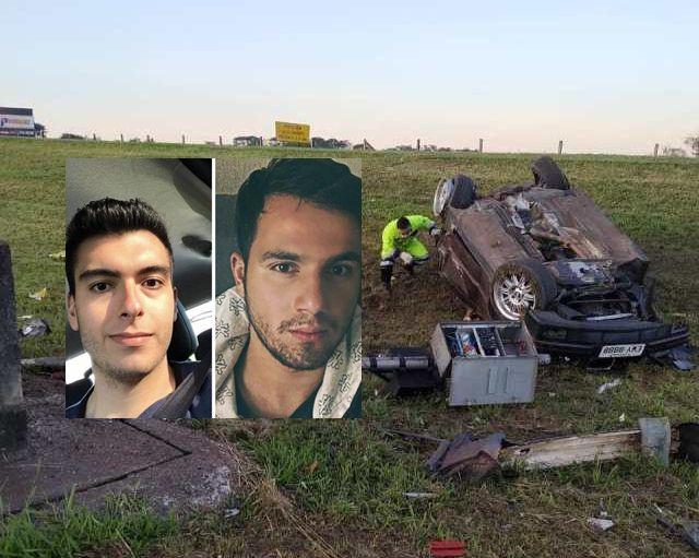 Dois jovens morrem em grave acidente na Washington Luis - Crédito: Grupo Rio Claro SP