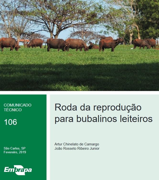 Publicação da Embrapa São Carlos apresenta Roda da Reprodução para búfalas - Crédito: Divulgação