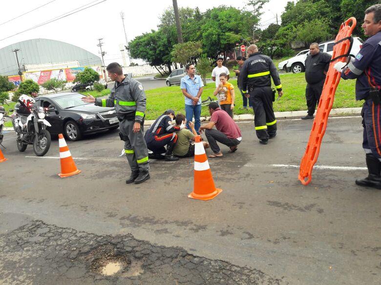 Ciclista de 12 anos é atropelado por carro na Miguel Petroni - Crédito: São Carlos Agora