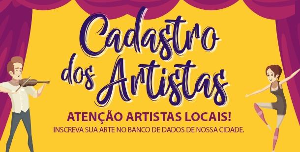 São Carlos abre Cadastro dos Artistas -