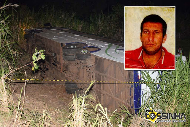 Motorista morto em tentativa de assalto será sepultado na tarde de hoje em Ibaté - Crédito: Portal do Tossinha