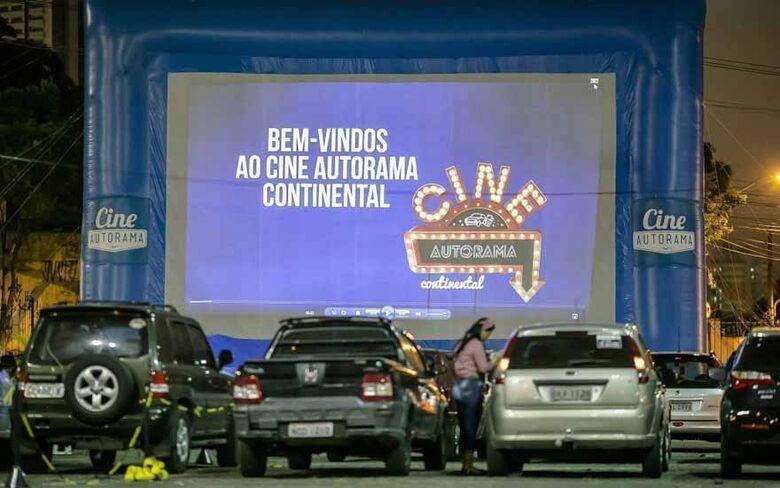 Cine Autorama realiza sessão de cinema drive-in em São Carlos - Crédito: Divulgação
