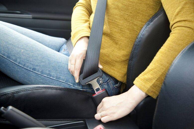 A importância do uso do cinto de segurança -