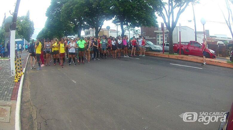 No domingo, Prefeitura de Ibaté realiza mais uma etapa do Campeonato Corrida Treino de Rua - Crédito: Divulgação
