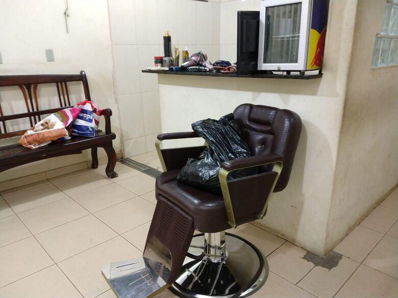 Força Tática recupera objetos furtados de salão de cabeleireiros no Centro - Crédito: São Carlos Agora