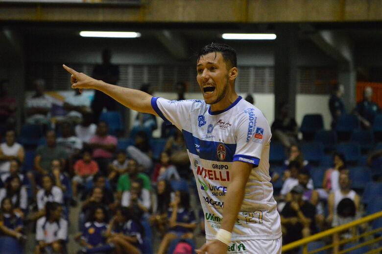 São Carlos enfrenta Carlos Barbosa na estreia em casa pela Liga Nacional - Crédito: Maicon Reis