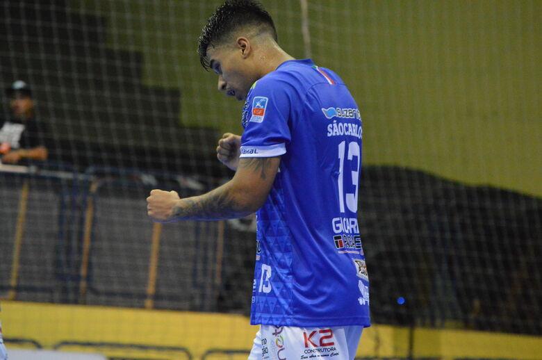São Carlos e Joinville ficam no empate pela Liga Nacional - Crédito: Maicon Reis