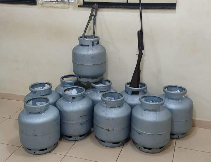 Ladrões furtam 10 botijões de gás de depósito na Vila Prado - Crédito: São Carlos Agora
