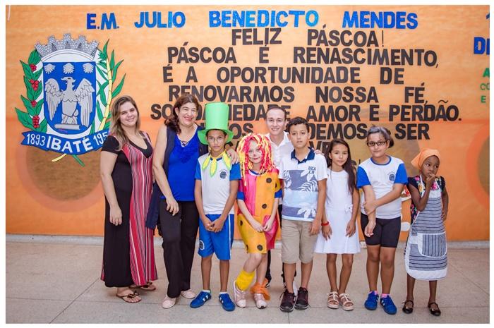 Escola Municipal de Ibaté desenvolve projeto no mês de abril - Crédito: Divulgação
