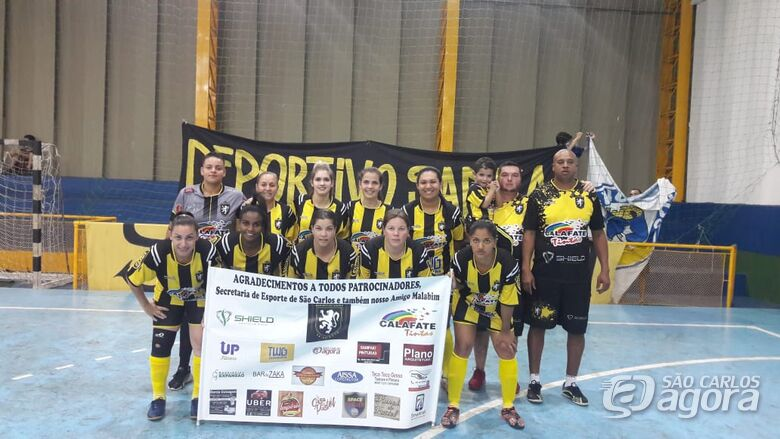 Meninas do Deportivo Sanka estreiam com boa vitória Copa Record - Crédito: Marcos Escrivani