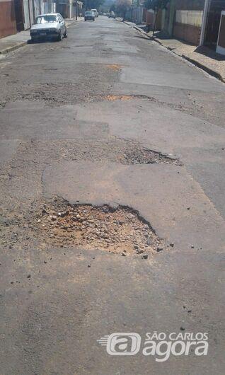 Malabim trabalha para que ruas do Jacobucci sejam recapeadas - Crédito: Divulgação