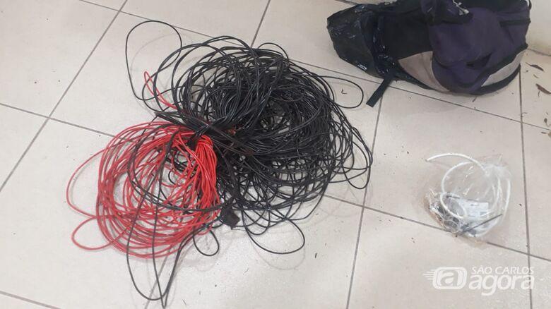 Nova fiação elétrica da Praça da Catedral foi furtada -