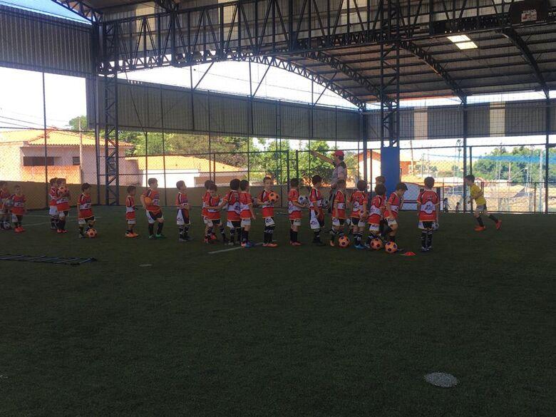 Baby foot da Mult Sport intensifica trabalho visando início do campeonato interno - Crédito: Divulgação
