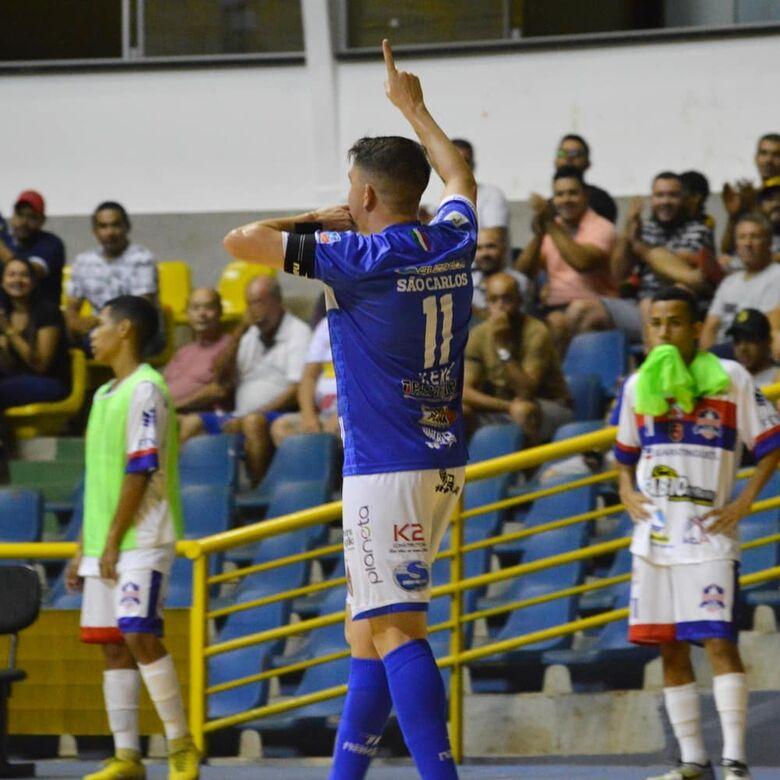 São Carlos goleia o Yoka e segue na liderança da Copa Paulista - Crédito: Maicon Reis