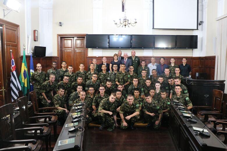 Dia do Exército Brasileiro é comemorado em sessão solene da Câmara Municipal - Crédito: Divulgação