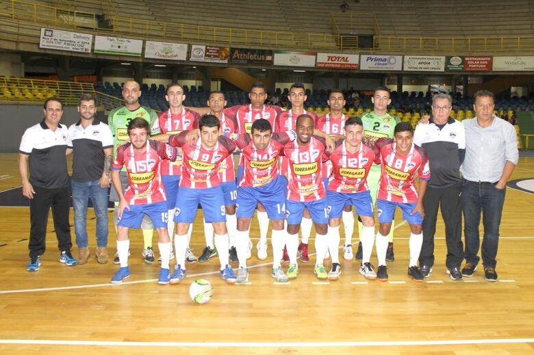 São Carlos Futsal quer manter boa fase e vencer Américo Brasiliense - Crédito: Divulgação