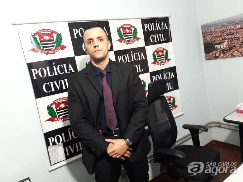 delegado Miguel Carlos Capobiano Júnior: sem trégua para os traficantes - Crédito: Arquivo/SCA