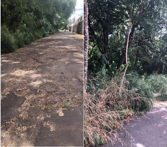 Vereador Rodson aponta necessidade de recape em ruas do Planalto Paraíso - Crédito: Divulgação