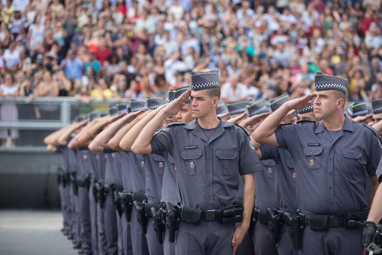 Polícia Militar de São Paulo passará a utilizar câmera nos uniformes - Crédito: Divulgação