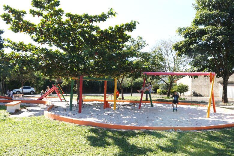 Praça Francisco Escobal é inaugurada no Jardim Acapulco - Crédito: Divulgação