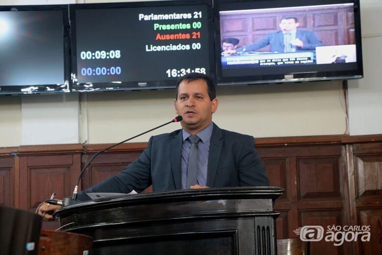 Vereador Roselei solicita audiência pública para tratar de problemas na iluminação da cidade - Crédito: Divulgação