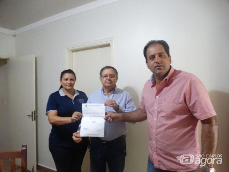 Vereador Sérgio Rocha destina recursos à entidade Madre Cabrini - Crédito: Divulgação