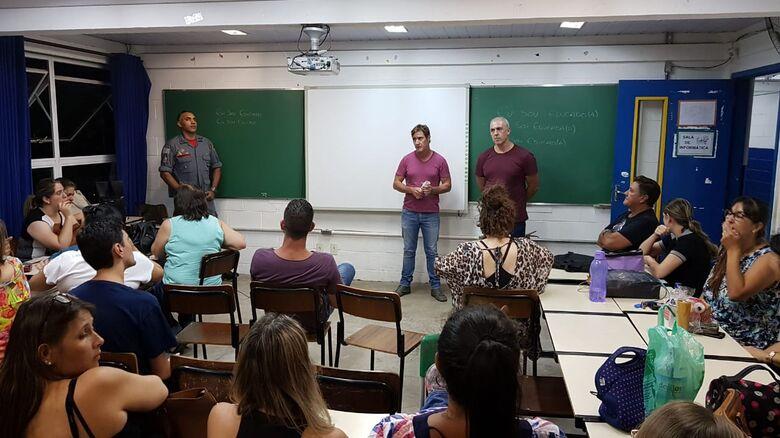 SSP e Bombeiros ministram palestra no CAIC -