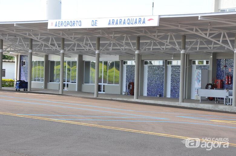 Aeroporto de Araraquara voltará a ter voos comerciais da Azul - Crédito: Daesp