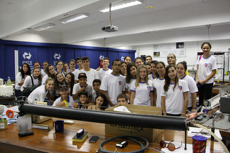 IFSC/USP São Carlos recebe visitas monitoradas de alunos do ensino médio - Crédito: Divulgação