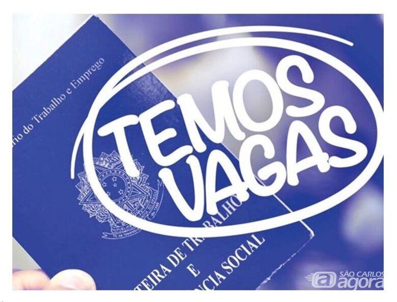 Balcão de empregos do São Carlos Agora oferece 34 vagas de emprego -