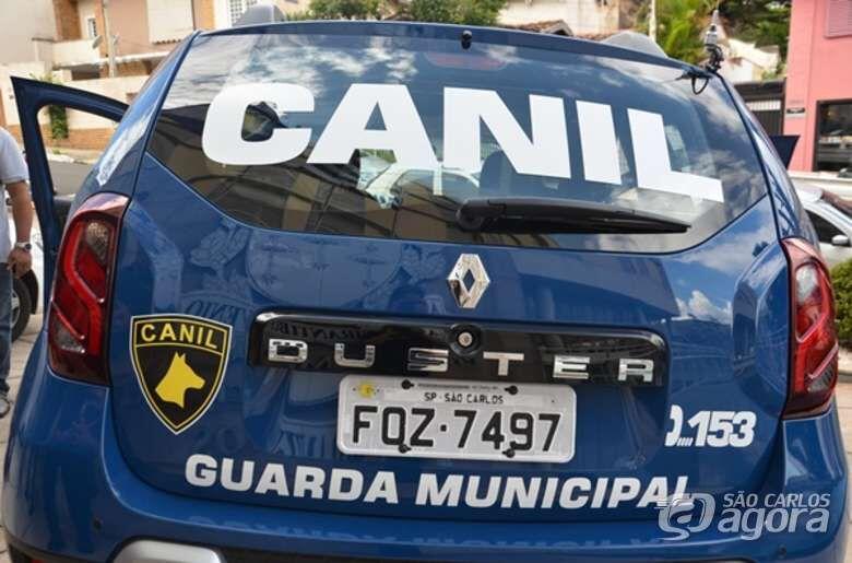 Guarda encontra mochila recheada de cocaína no Jacobucci - Crédito: Arquivo SCA