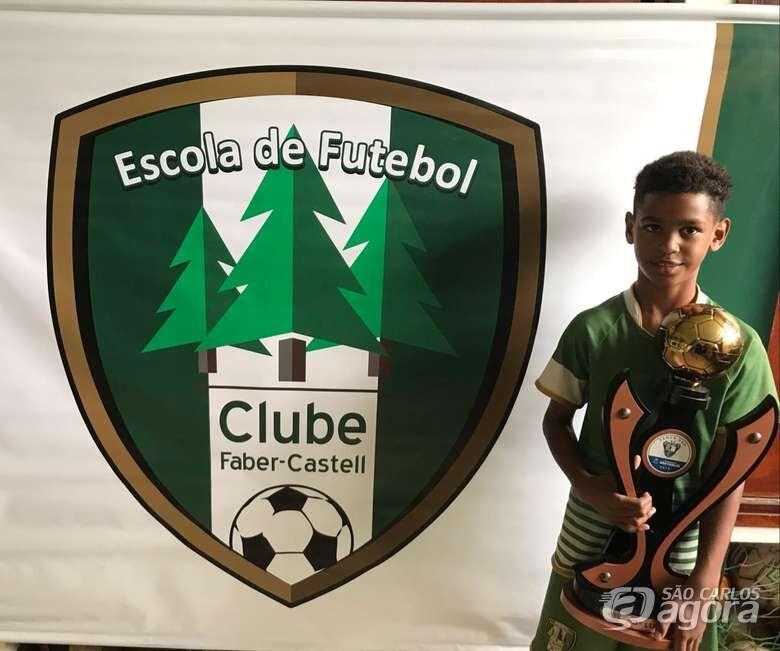 Atleta de São Carlos é selecionado pelo Fluminense F.C. - Crédito: Divulgação