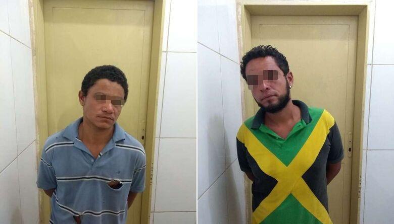 Dupla é detida após assaltar estudantes no Boa Vista -