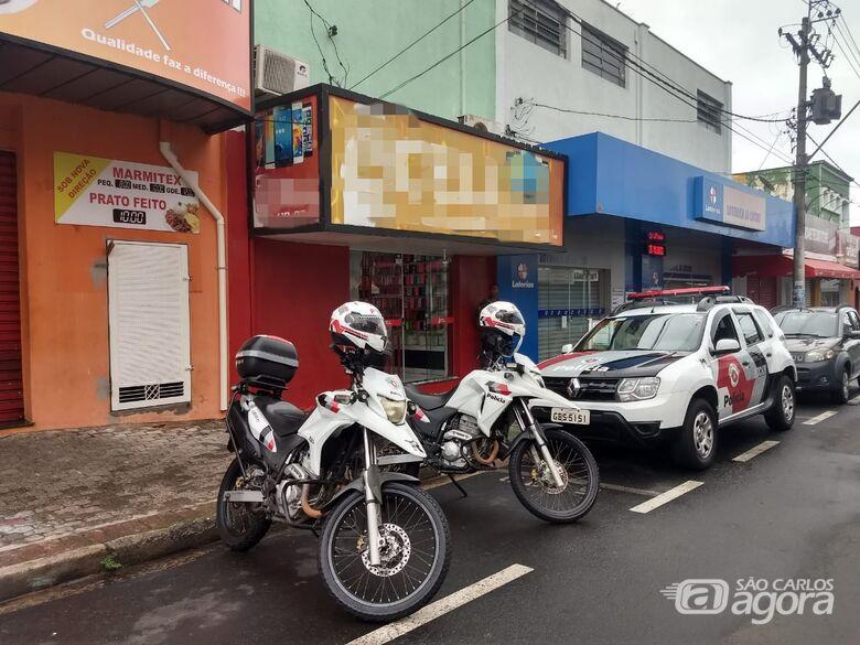 Ladrão confessa furto em loja e é preso pela ROCAM - Crédito: São Carlos Agora