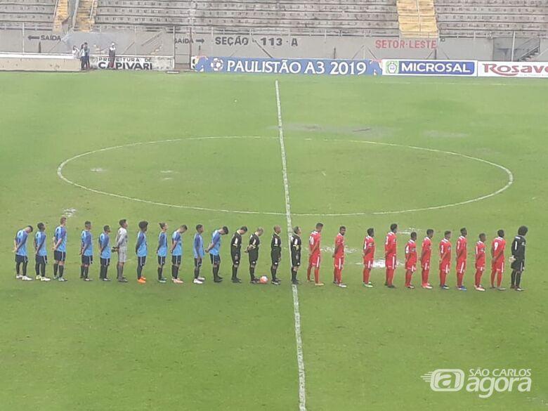São Carlos estreia com maus resultados no Campeonato Paulista - Crédito: Divulgação