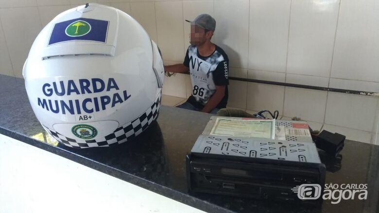 GM detém suspeito de furto próximo à Santa Casa - Crédito: São Carlos Agora