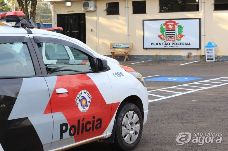 PM detém casal suspeito de furto no Recreio São Judas Tadeu - Crédito: São Carlos Agora