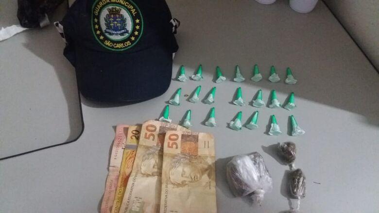 GM detém adolescente por tráfico no Cruzeiro do Sul - Crédito: Divulgação