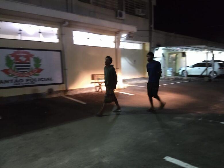 Dupla é detida por furto na região do Planalto Paraíso - Crédito: São Carlos Agora