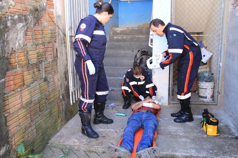 Homem é agredido à pauladas no São Carlos 8 - Crédito: São Carlos Agora