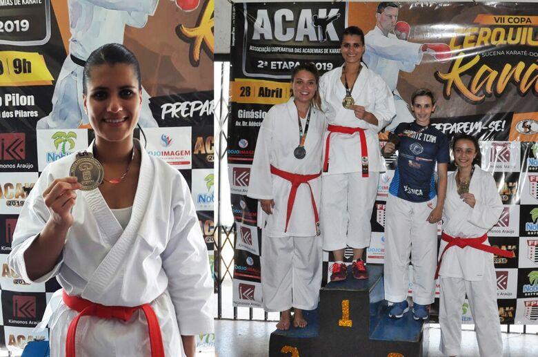 Geovanna Santiago é campeã na VII Copa Cerquilho - Crédito: Divulgação